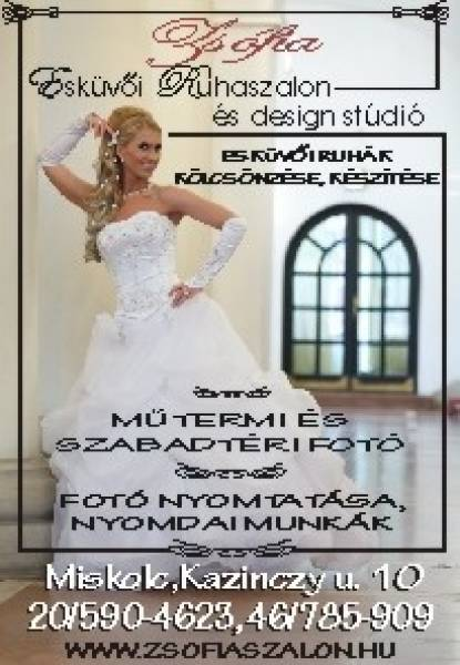 5df971763a Zsófia Esküvői Ruhaszalon ...